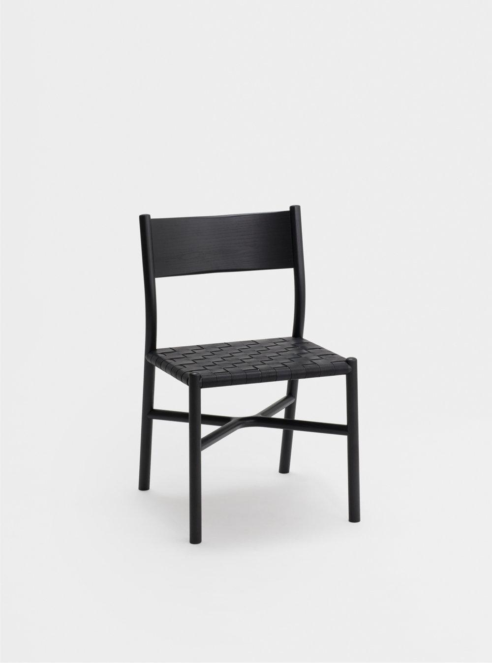Ariake Chair - Sumi Ash/Leather Strap