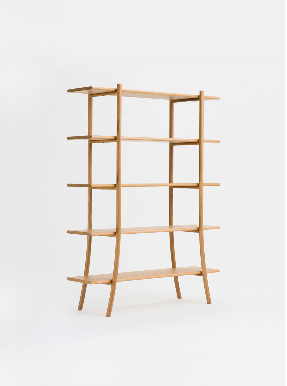 Ariake Skyladder Shelves - Oak/High