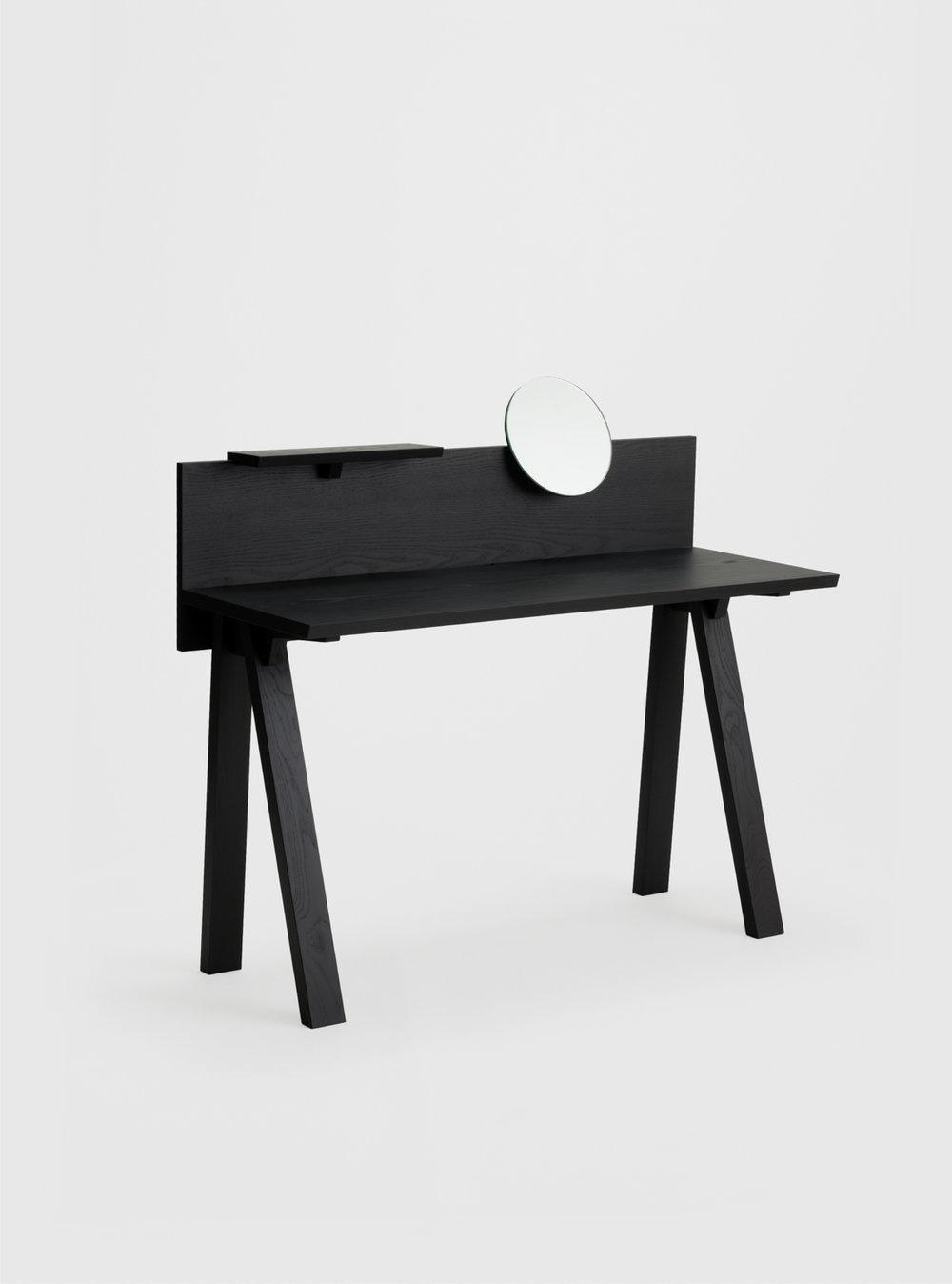 Ariake Sagyo Desk - Sumi Ash