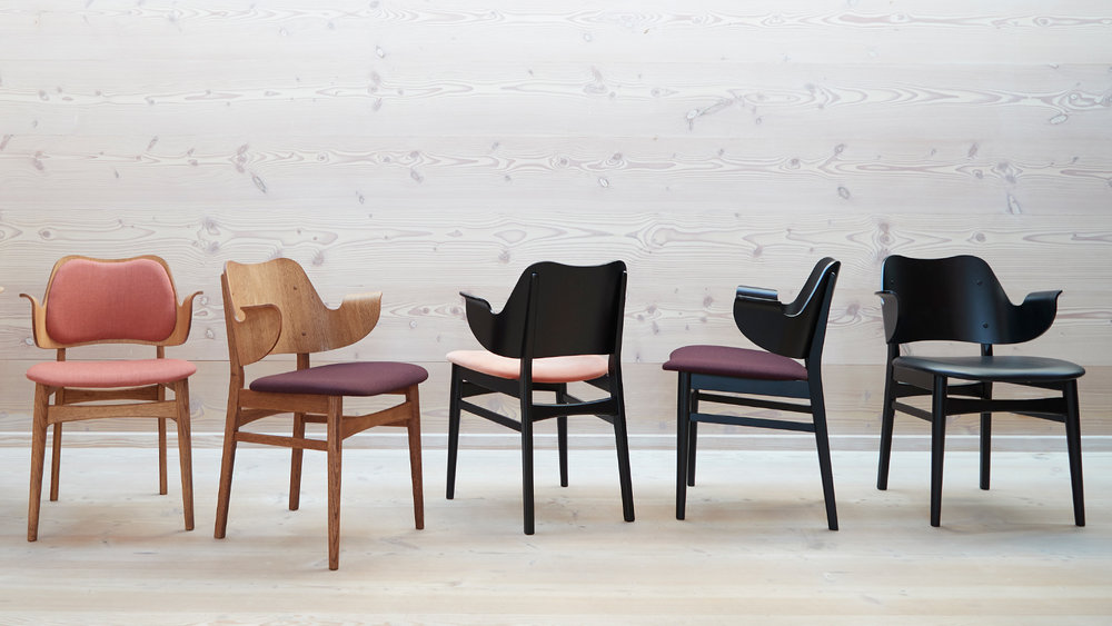 The Gesture Chair by Hans Olsen, Warm Nordic