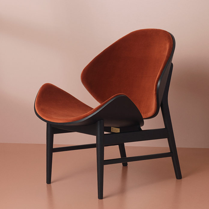The Orange Chair by Hans Olsen, Warm Nordic