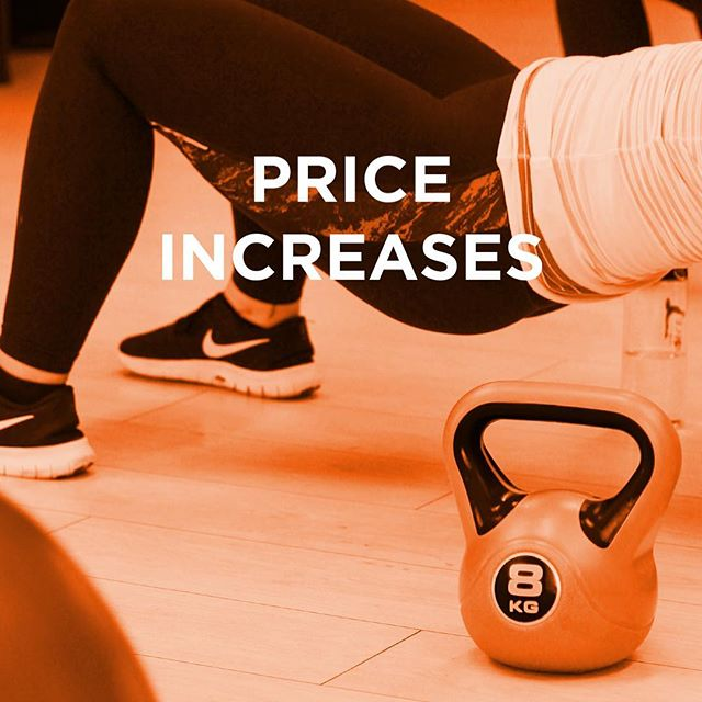 Price increase and venue changing  Bemore studio is on the move..... But don't panic we are not going far.  To ensure that we remain part of the local fitness scene we are moving to more permanent premises. This is very exciting as it means we can continue to offer the best classes, and much more besides. When we have more details of where and when you will be the first to know.  In order to do this we need to put our prices up a bit, not by much, and we still remain one of the most reasonable classes in the area.  To find out more about the price increases please visit our website.  Thank you for being part of our journey.  Carlie x