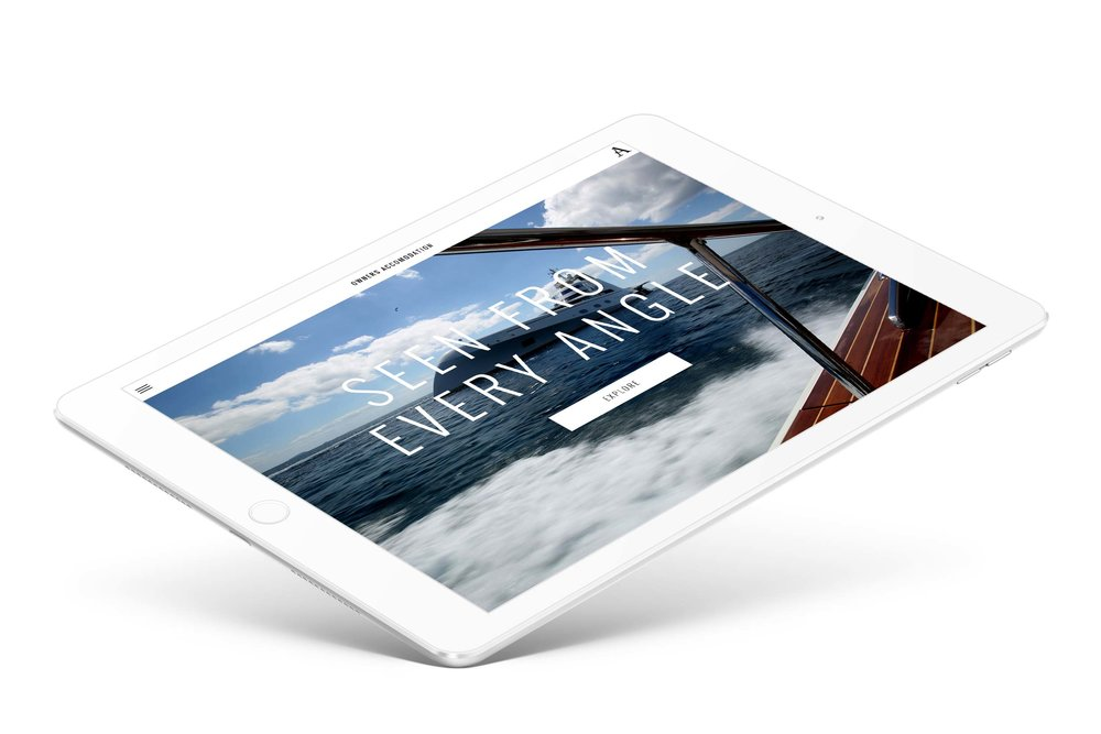 Superyacht app