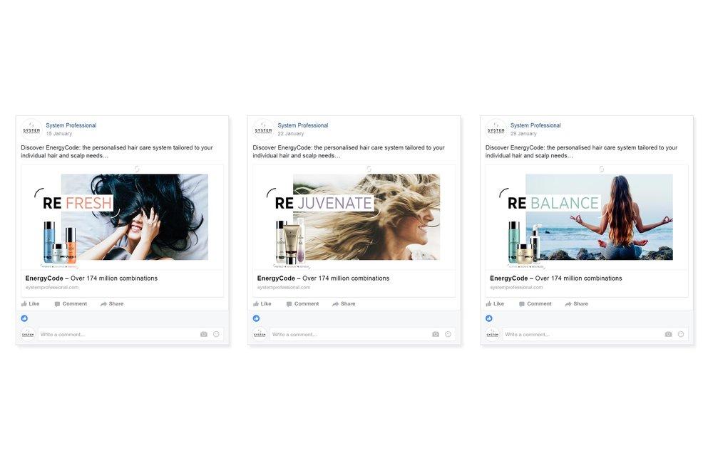 #resolution campaign facebook posts