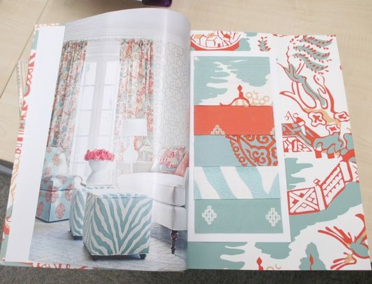 Thibaut Enchantment has some gorgeous coral   #wallpaper   designs.