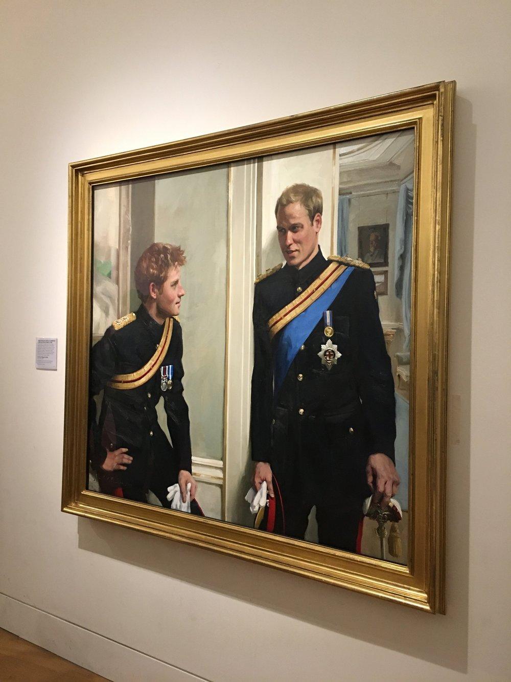 EurDesign Studio National Portrait Gallery London Crown Princes