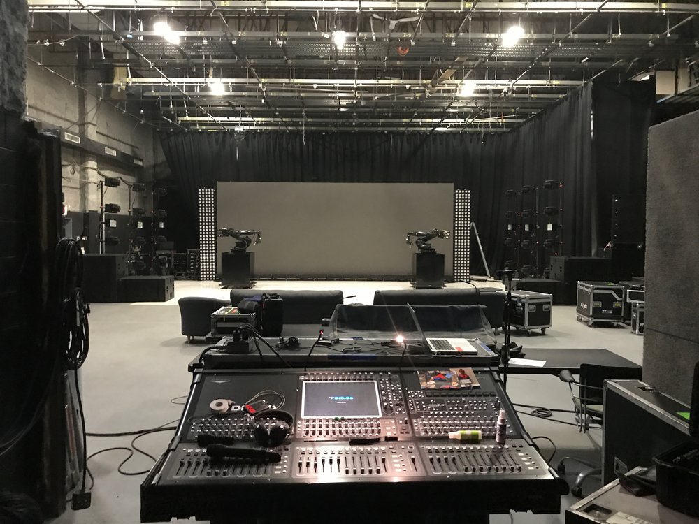 Touring Production Rehearsals - Soundstage A