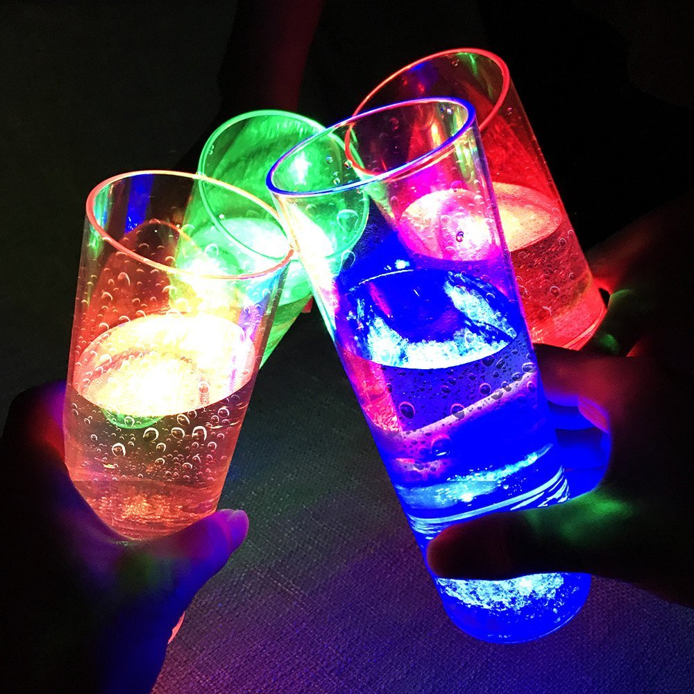 LED Light Cups  - If you have a cup with LED Lights, the flashing lights draw attention faster to your cup to get a quicker refill.