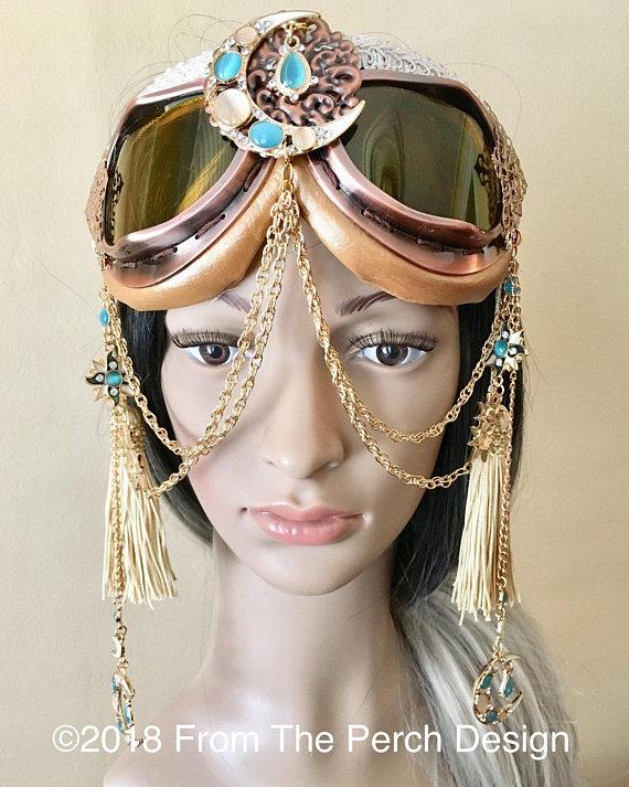 Burning Man Goggles Etsy
