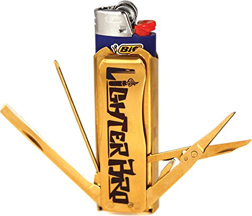 The Handy Lighter - Some lighters come with handy tools like bottle openers, or even scissors.