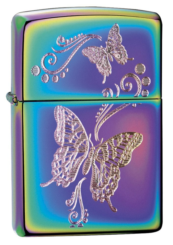Sustainable Zippo - Zippos come in all kinds of styles and designs. Plus they are reusable, so no MOOP afterwards.
