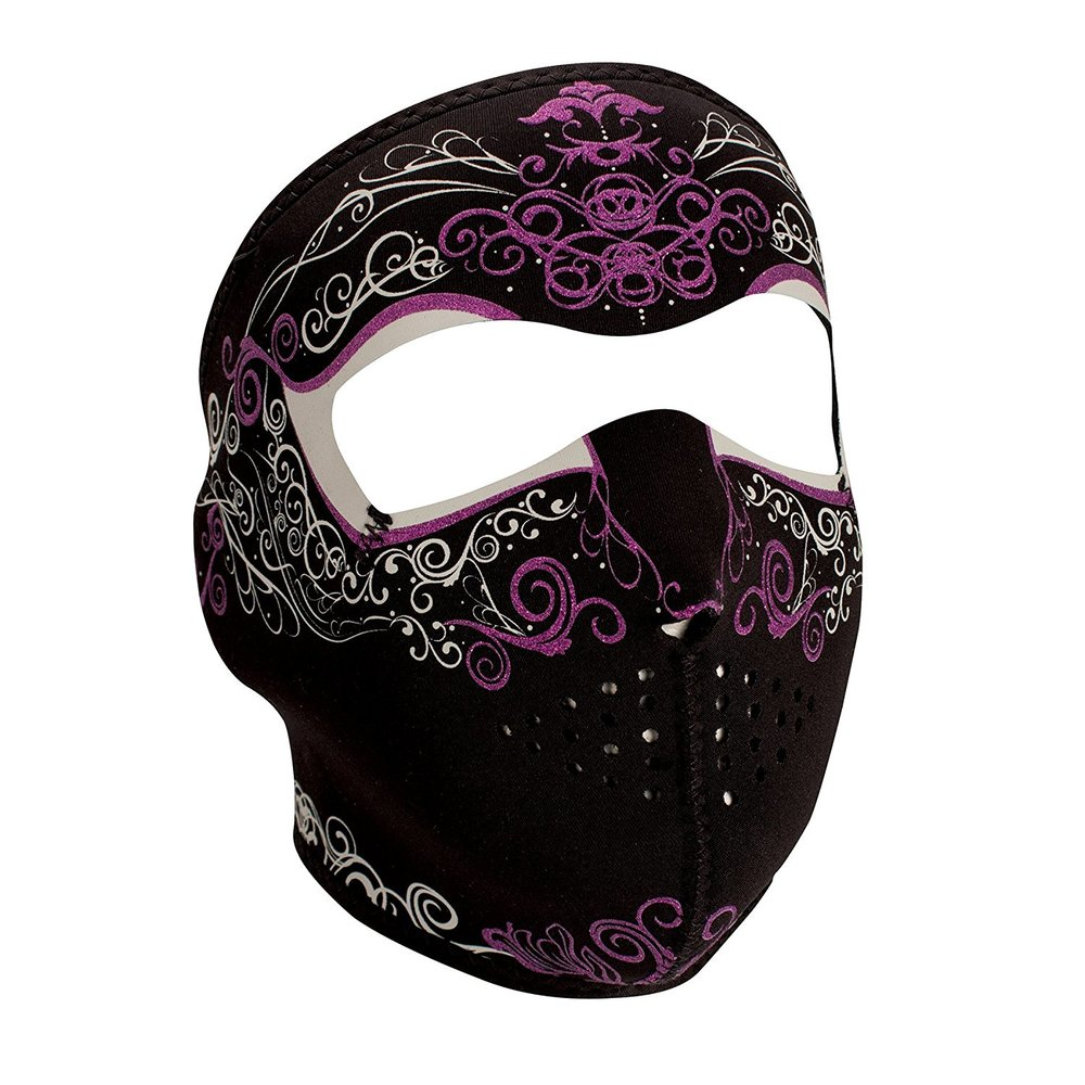 Neoprene Masks - Often used by skiers, bikers and other outdoor sports fan. They provide very good filtration from the dust, but can sometimes be very warm. They come in a variety of styles, full head or only part of the face.