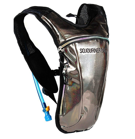 Funky Hydration Packs - These funky designed hydration packs, not only look cool, but you can carry 2 liters of water at a time. If you do get a hydration pack, get a cleaning kit as well.