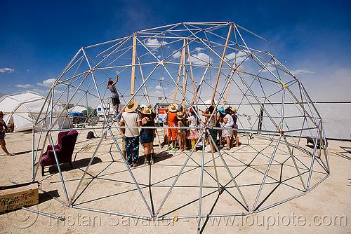 Assembling Geodome