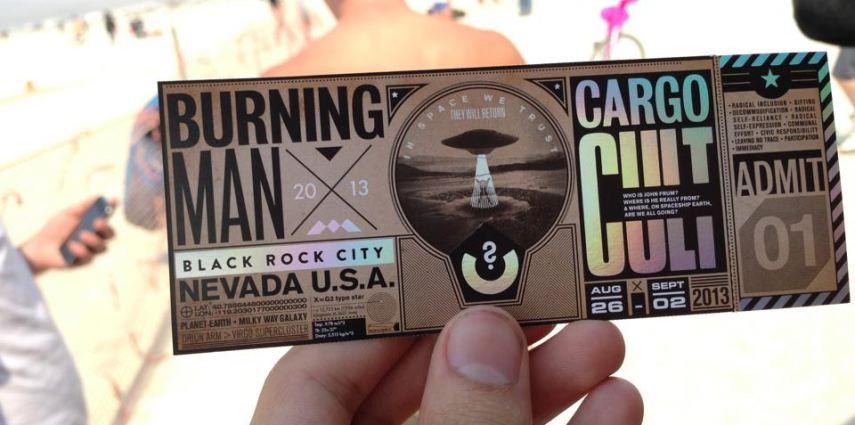Precio tickets burning man