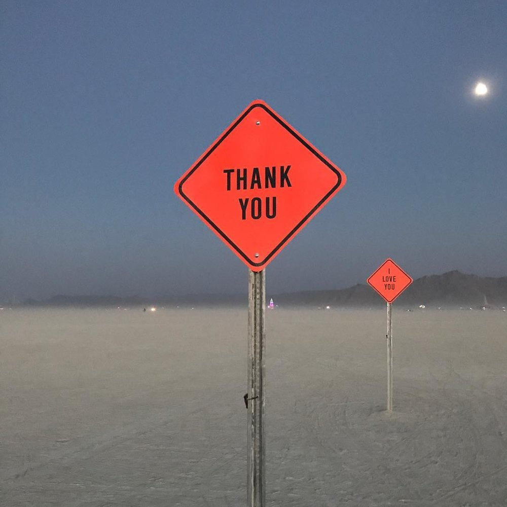 If you are willing to make the journey, the playa will provide. - photo by The Gong Experience