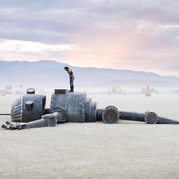 iRobot is this year's Burning Man Theme. How TRON will it get? ➡️ Repost @peachpopstore Follow 👉 @burningmanguides #burningman #brc #blackrockcity #burners #burner #industwetrust #burningmanphotos #playa #burningmantips #love