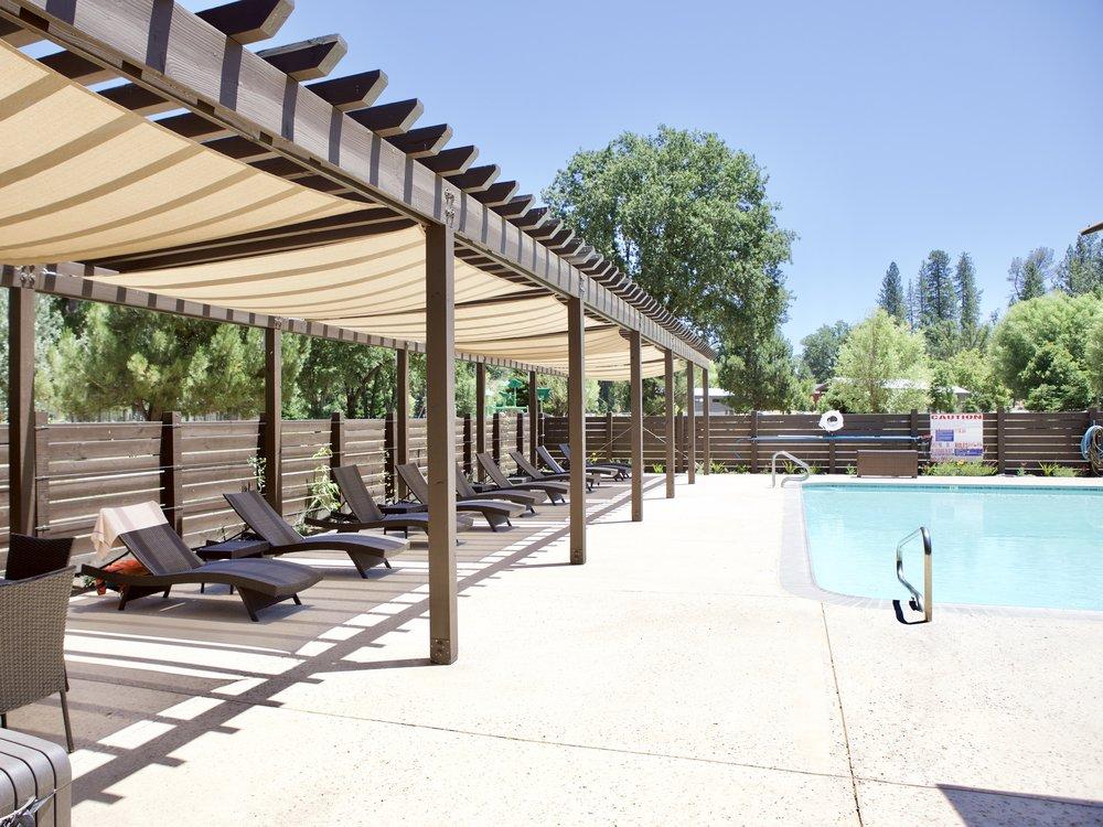 Enjoy the pool at the event venue Mandala Springs