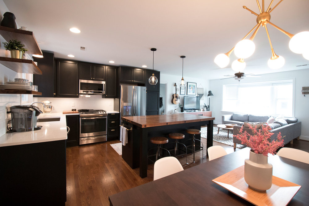 We recently finished a full kitchen remodel where we removed a major load-bearing wall. Everything went great and it was all finished in a timely manner. Their estimates are fair and they won't add