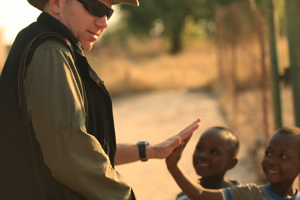 Humanitarian efforts in South Africa