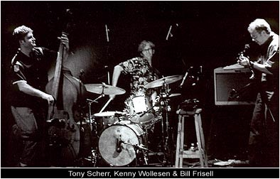 Bill Frisell, Tony Scherr, Kenny Wollesen -