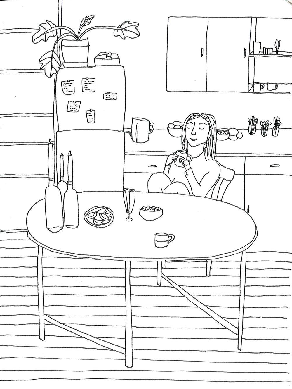 Malene i køkkenet.jpg