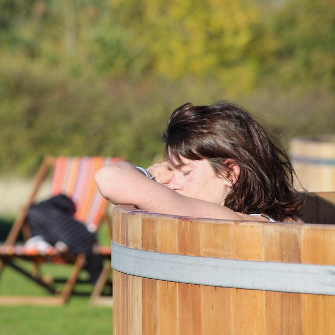 - WOOD-FIRED HOT TUBS