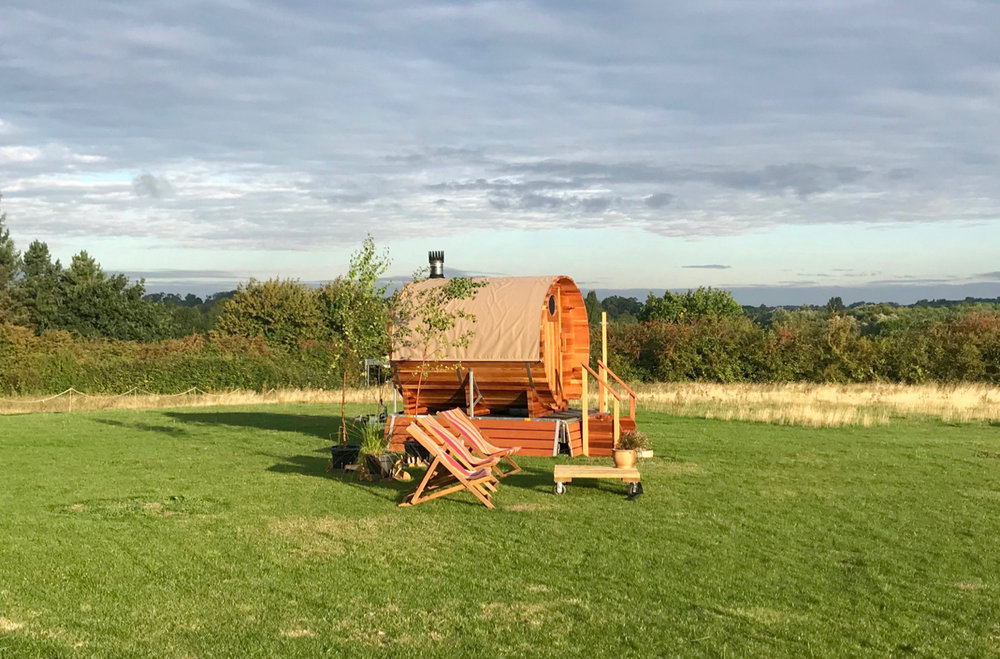 Corporate & private hire - Facilities include a fully equipped outdoor spa, workshop/meeting space, kitchen and bar, toilets and a large open field with beautiful countryside views - the perfect canvas for realisation of your concept.FIND OUT MORE