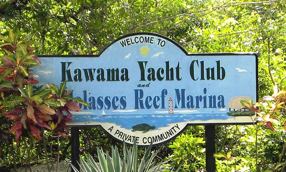 1 Kawama Yacht Club Sign.JPG
