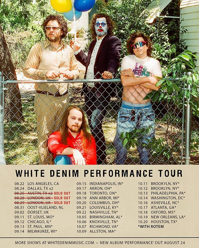 """Very excited to have Rotem (impressive new fusion project from our friend @rotemsivanguitar) joining us for these September and October US shows!  Link to tickets in our Story.  New show (30 min set) + album signing added at Amoeba Hollywood on August 22.  More shows, including November 2018 European tour dates, on our website.  For a preview of Rotem's album that comes out at the end of the month, check out """"Indian Ocean""""."""