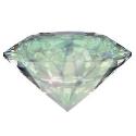 The diamond represents the descent of Love, Value.