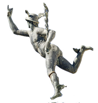 Hermes: psychopomp, trickster, orator, patron of  thieves and businessmen