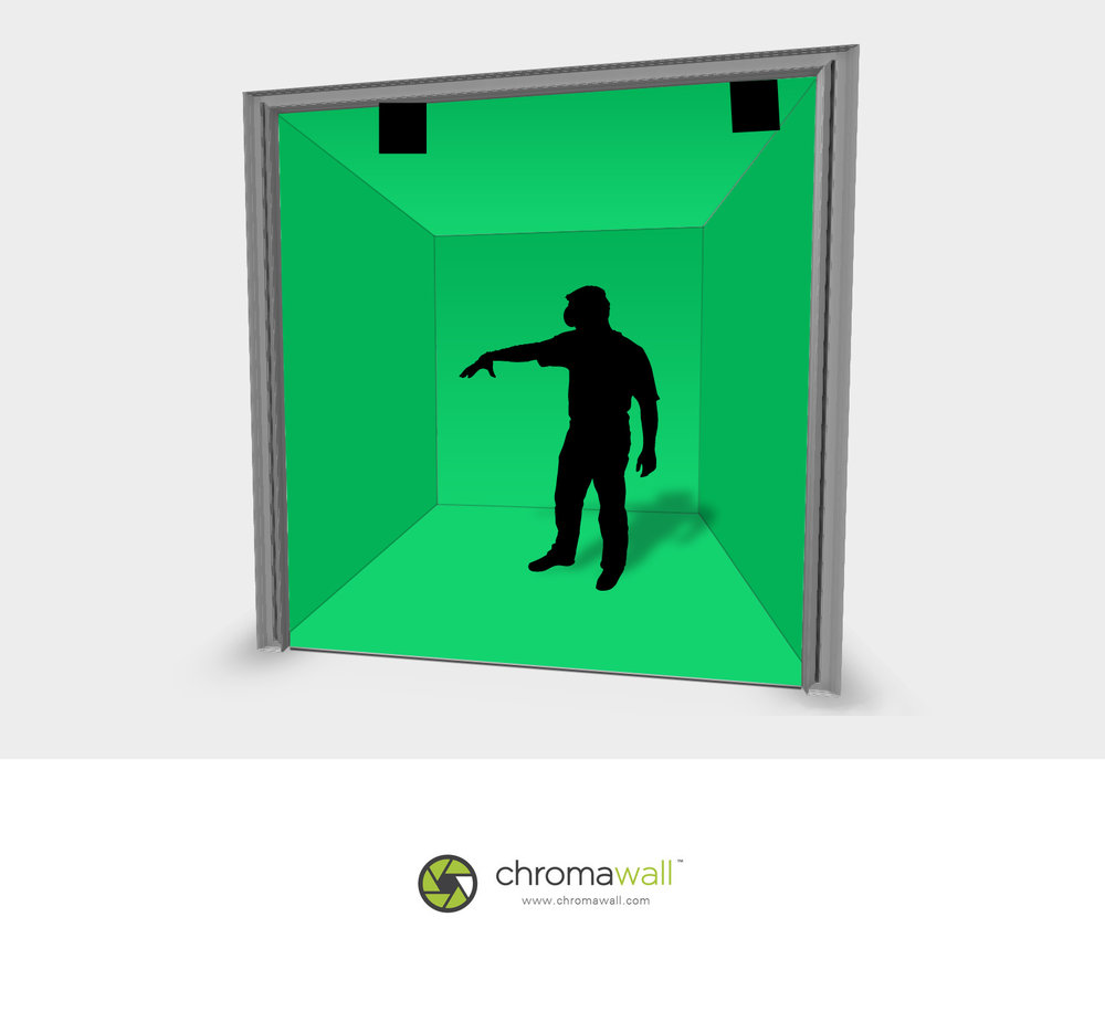 Mixed Reality Green Screen Cube