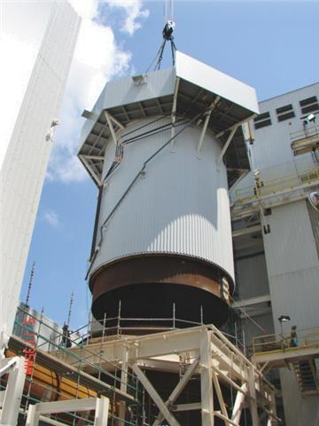 28 Inch Diameter Spray Dryer Tank - Steel