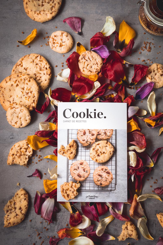 COOKIE - carnet de recettes La Fabrique - Cookies