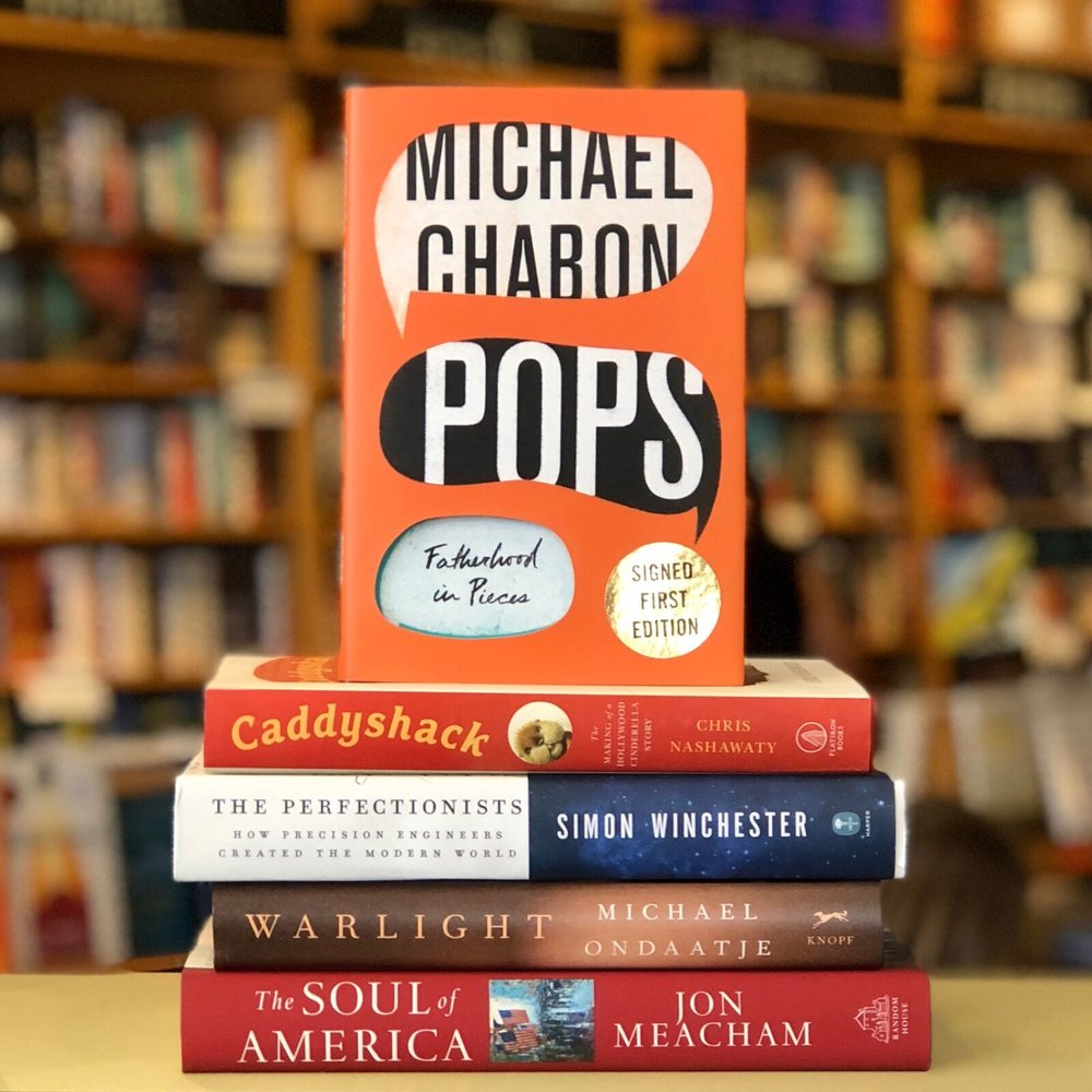 Parnassus recommends these books as great Father's Day purchases.