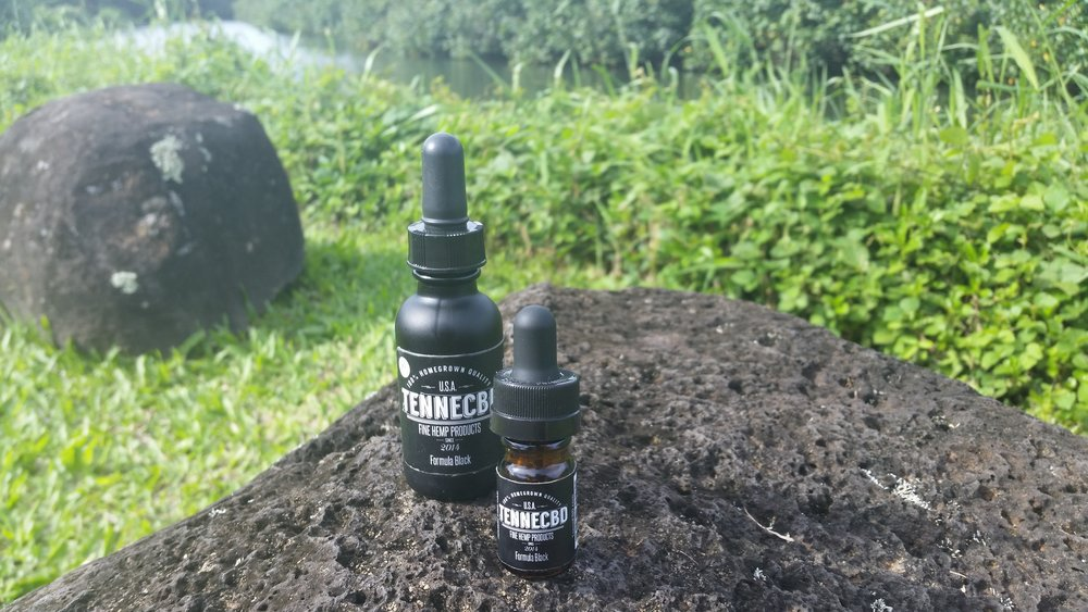 TenneCBD Formula Black