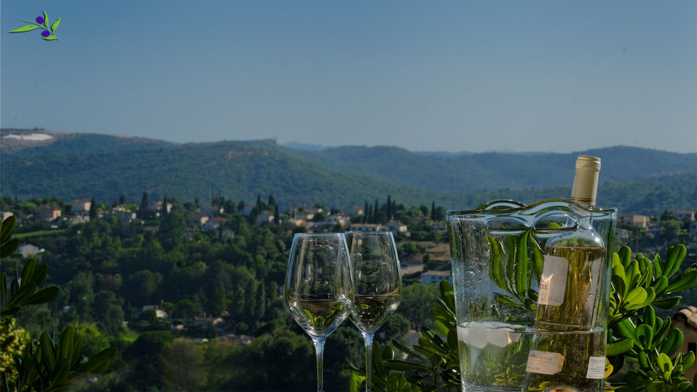 Enjoy the view with a glass of Rosé