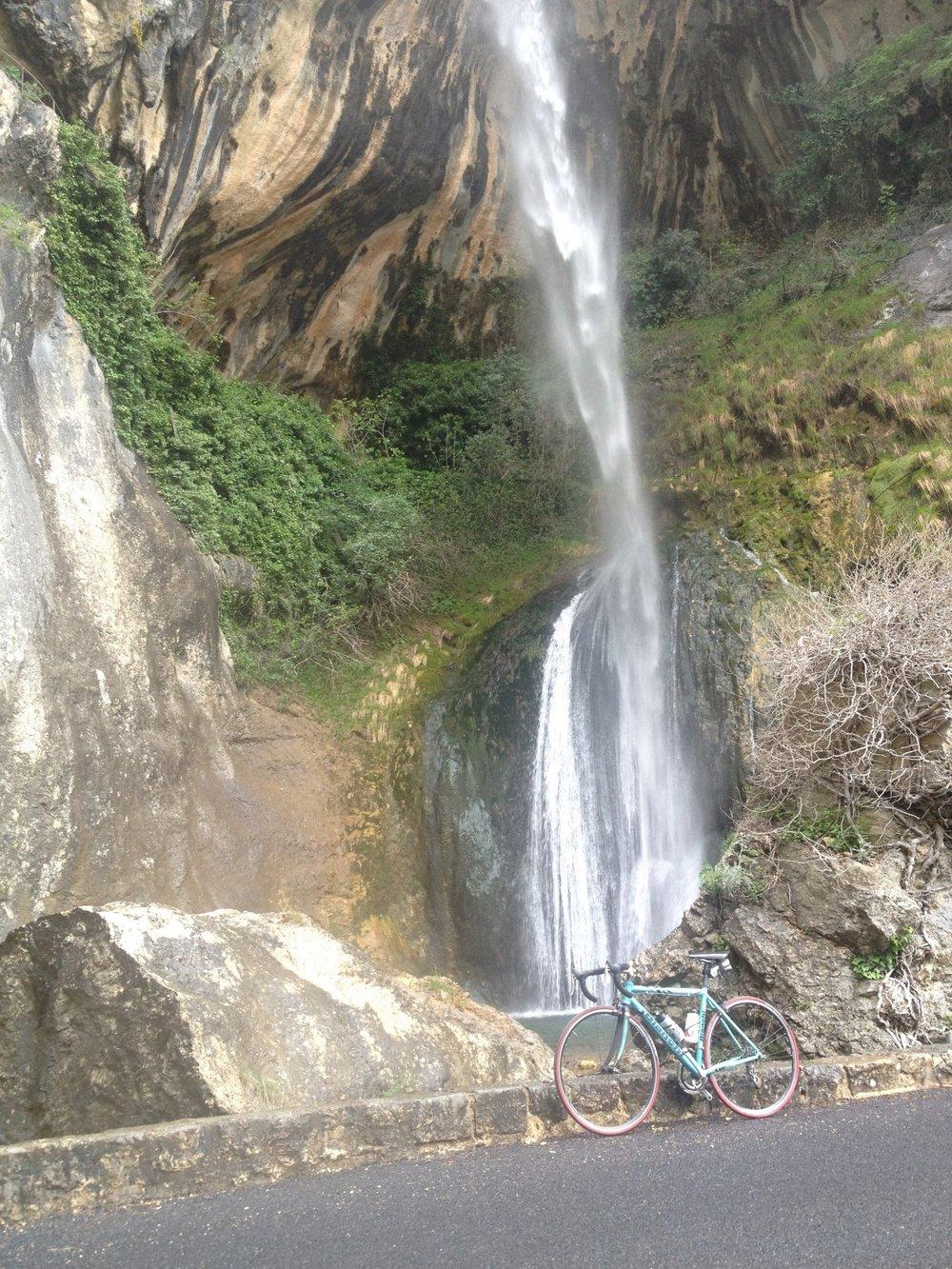 Cascade de Cormes - Gorges de Loup
