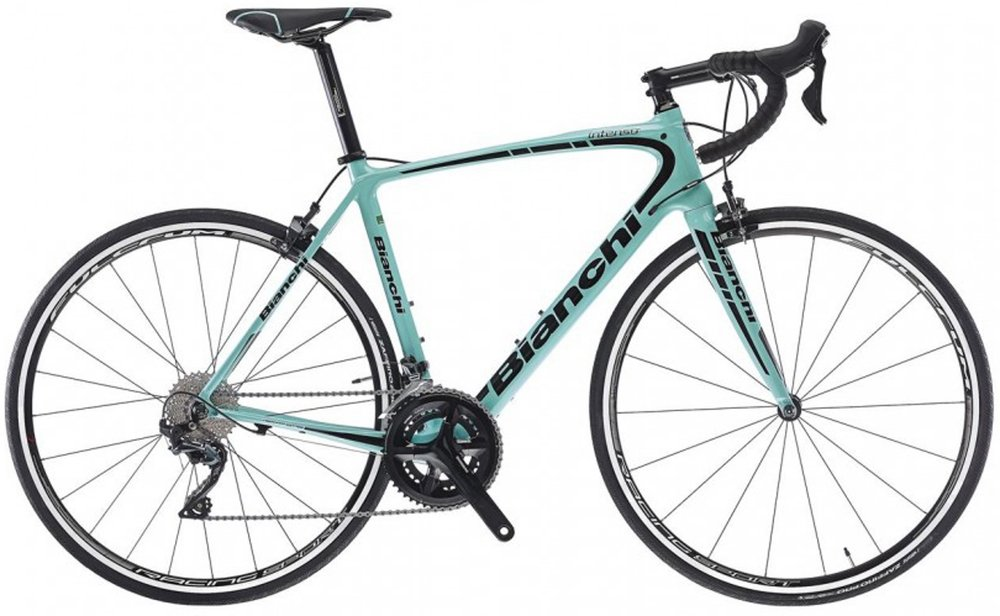 Bianchi Intenso Ultegra. Colours may vary.
