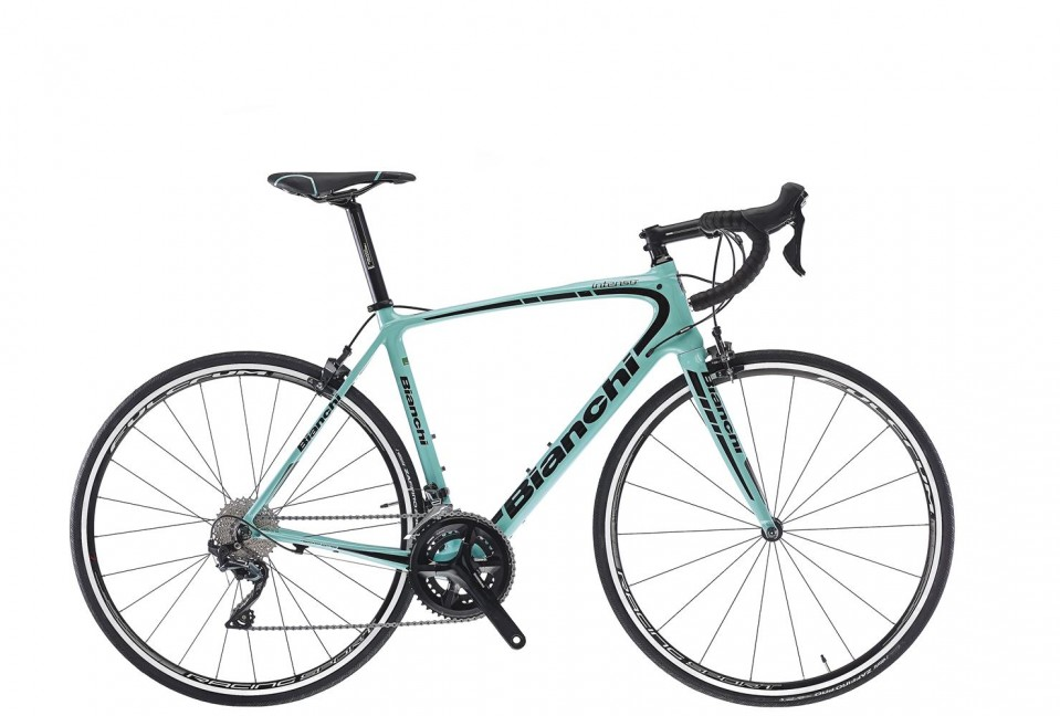 Bianchi Ultegra 11 speed. Colours may vary.