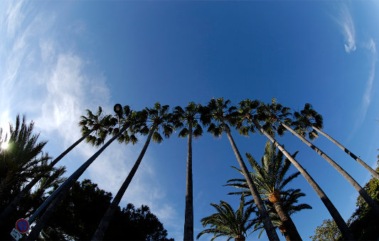 Winter skies in Cannes - Côte d'Azur