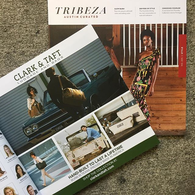 Check out Tribeza's September Style Issue! - Models @silvia.nikolov and @reynoldsshaffer for @clarkandtaft