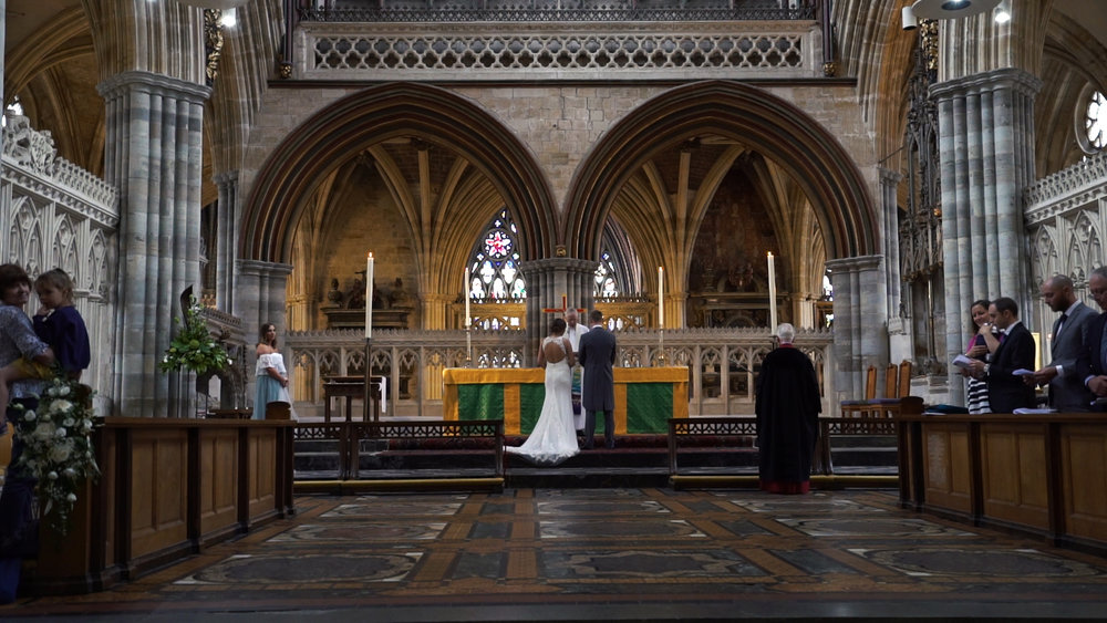 August 2018 - Cathedral wedding