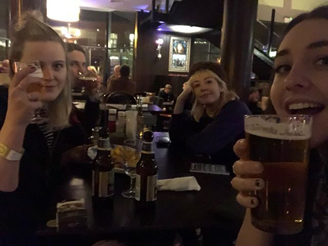 NORWICH we're at The Waterfront Studio with @wehavepaws tonight, but we've already found our way to the Wetherspoons 😏 music starts at 8:30! tickets at the door!