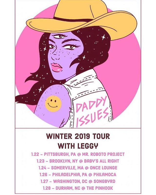 tour is over *for now* but hey look at these new dates we have in january for all you winter snoozers!  we're bringing our sweet friends @leggyband this time - get your tickets before they run out!  LINK IN BIO BABY