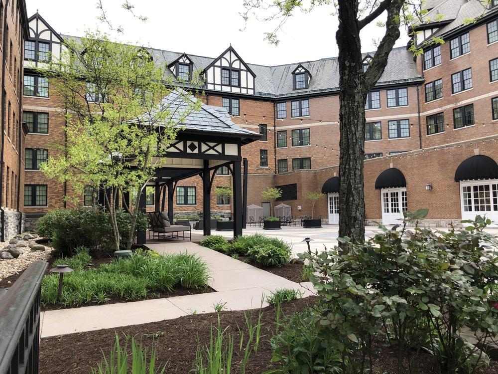 Gazebo Area Hotel Roanoke