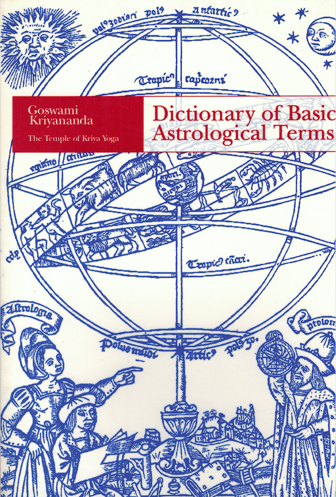 Dictionary of Basic Astrological Terms - $8.95