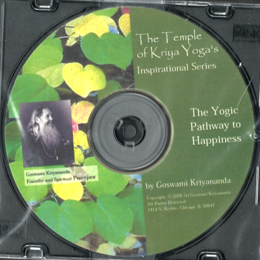 The Yogic Pathway to Happiness - $5