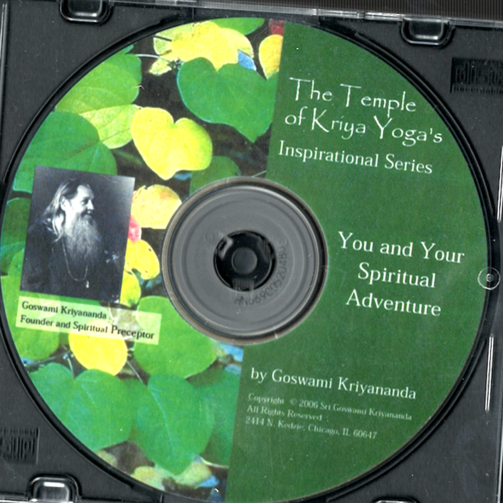 You and Your Spiritual Adventure - $5